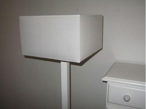 Lamp foot straight Ref.3615