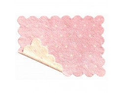 Alfombra Galleta Rosa-Beige Reversible REF. LC77771-18
