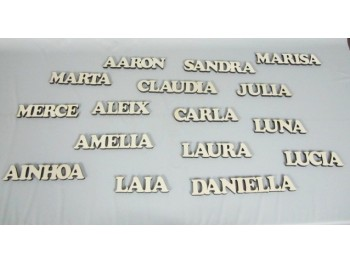 Nombres de madera REF.8000