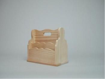 Comprar Cajas de madera y Cesta para cartas REF.1504