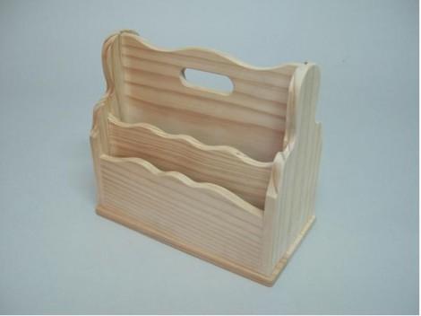 Portacartas de madera Ref.1504