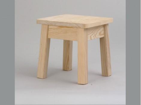 Taburete de madera 28 cm. REF.1310