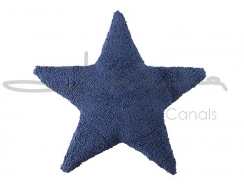 Cushion Navy Star