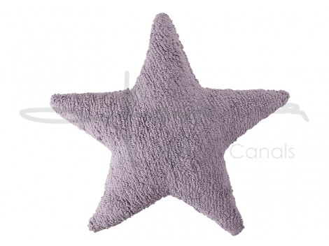 Cushion Star Grey