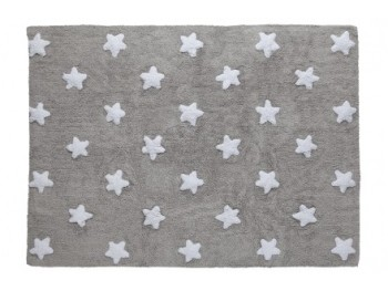 Carpet Grey white stars REF.LCGSW
