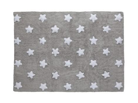 Carpet Grey white stars REF.LCGSW