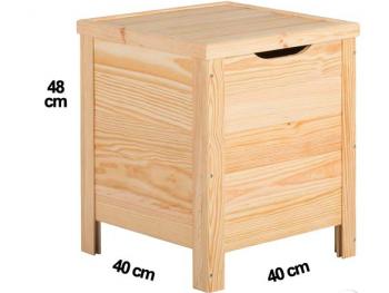 Baúl de madera D40 REF.2304