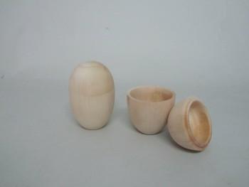 Caja huevo con tapa Ref.P1513A