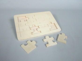 Puzzle pieces plate 12 Ref.P115PZ