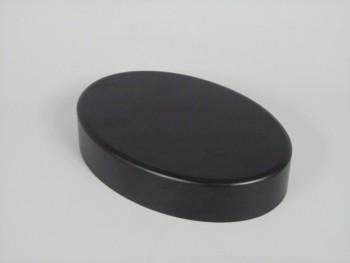 Peana Ovalada 19x13x4 cm. negra Ref. MD1A151