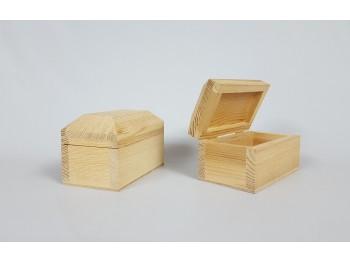 Caja pino tipo cofre Ref.50