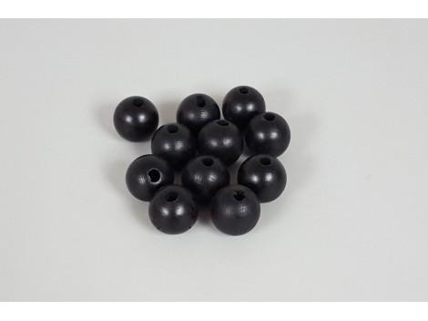Black Ball Ø25 mm. c / drill p. 6 mm. / 100 pcs.
