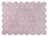 Alfombra Galleta Rosa REF. LC77771
