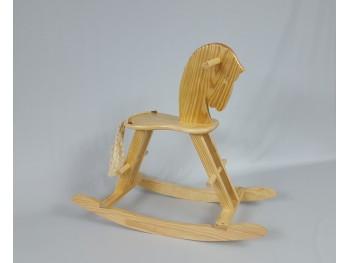 Caballito de madera con cola Ref.8000