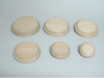 Round beech bases REF.2541