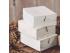 Taco de madera fotos Blanco Ref.P1005