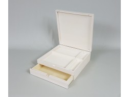 Caja blanca con cajón y div. Ref.P1454C9B