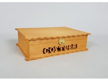 Caja costura con tapa ondas Ref.P1050