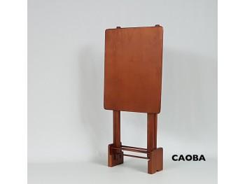 Juego 2 mesas plegables CAOBA Ref.1390outlet