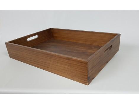 Varnished pine tray Ref.PT3C