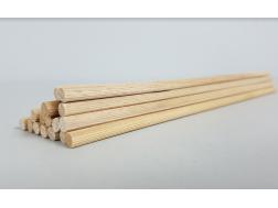 Round stick Striated Ø 6 mm. Length 25 cm.