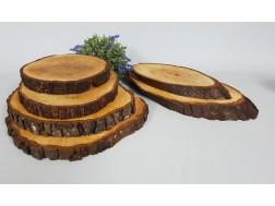 Wooden round for food Round Ref.AR1626