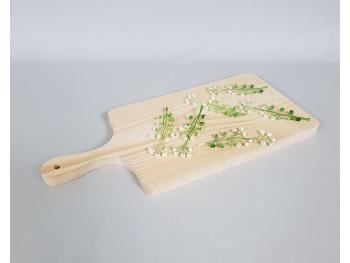 Tabla de cortar con mango 45x20 cm. Ref.AR01374