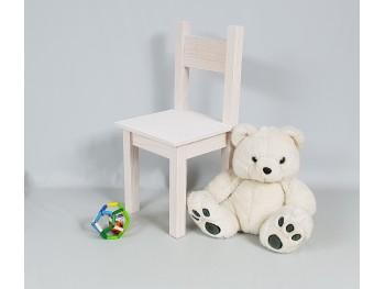 Silla infantil blanca recta Ref.AR02844