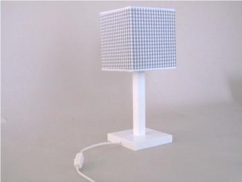 Lámpara infantil blanca cuadrada Ref. 3013