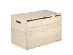 Baúl de madera 80 cm. c/tapa Ref.2302