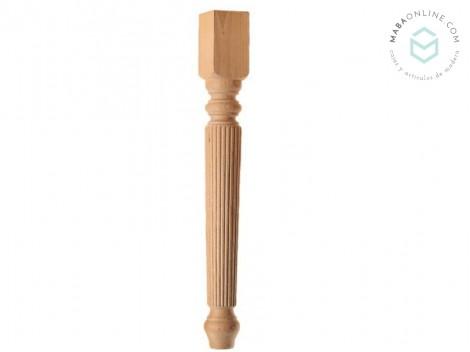 Striped Leg 9X9 cm. / Ref.ST145R