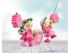 Cadena para cochecito Hadas rosas a Ref. S1317