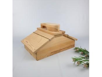 Zapatero de madera doble ala Ref.1428