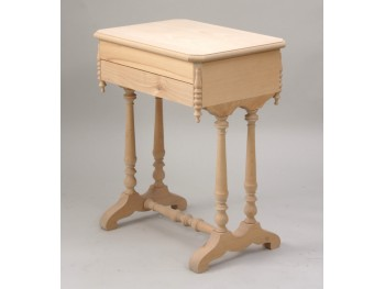 Sewing box legs with octagonal lid REF.1825