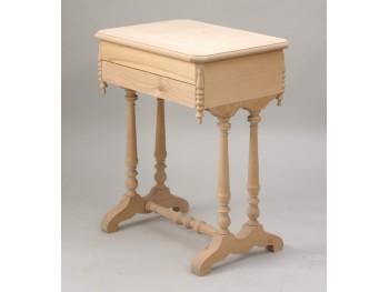 Costurero patas c/tapa octogonal cajón y compartimentos Ref.1825
