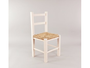White children's chair with enea seat Ref.AR0284390