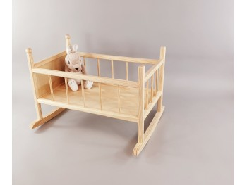 Cuna de madera para muñeca Ref.AR10691