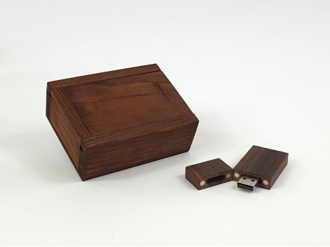 Pack PenDrive Aged Wood + Aged Box Ref.Pack1003CH3