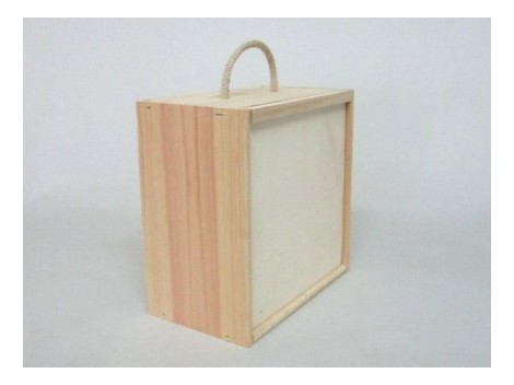 Cajas de madera para vino y caja de pino para Queso Ref.99