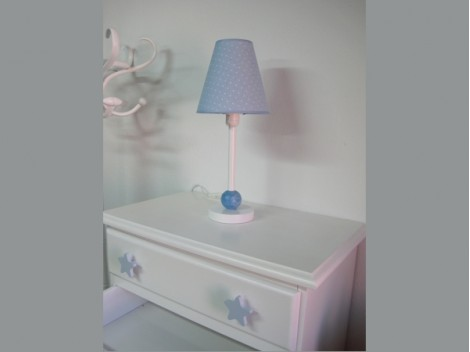 Lámpara infantil sobremesa azul Ref. 3009