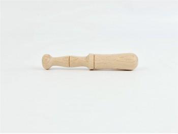 Mortero pequeño de madera 10 cm. Ref.CCCU43