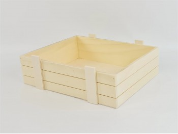 Caja cesta tipo embalaje 35x27x10 cm. Ref.PC10R