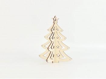 Árbol Navidad de madera sobremesa Ref.OP647635