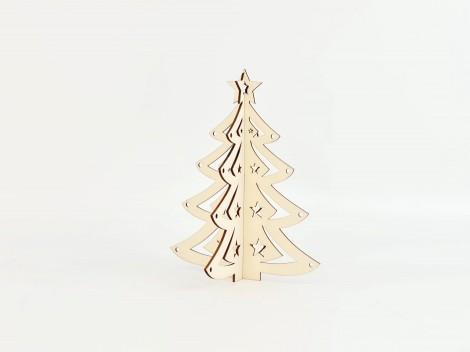 Árbol de Navidad de madera sobremesa Ref.OP