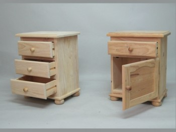 Rustic bedside tables REF.2253-54
