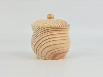 Caja redonda con tapa Ø8xL8 cm. Ref.AR7213