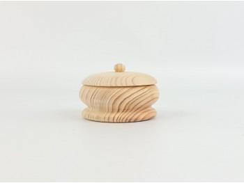 Small round box with lid Ø9xL6 cm. Ref.AR7223