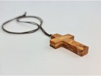 Cruz de madera de olivo
