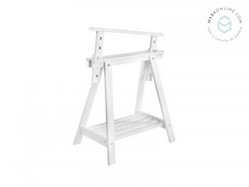 Adjustable sawhorse White. REF.1342A