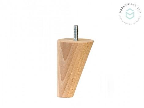 Sloped conical leg 12x7,5x3,5 cm. Ref.ST15120